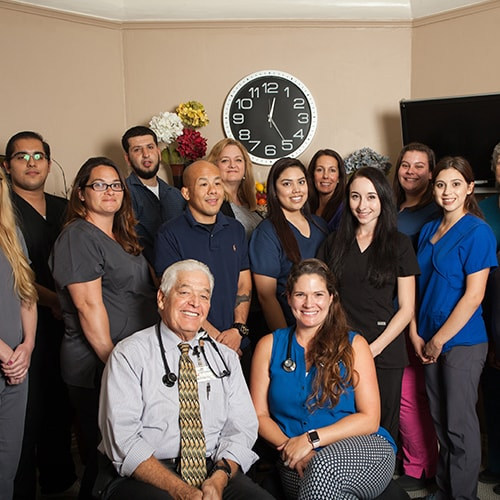 Our staff from California Occupational Medicine providing a fast and reliable service.
