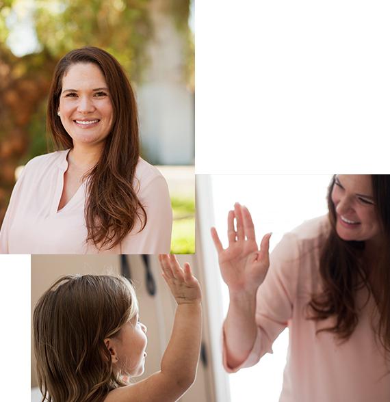California industrial care provider Dr. Kristi Carpenter smiling