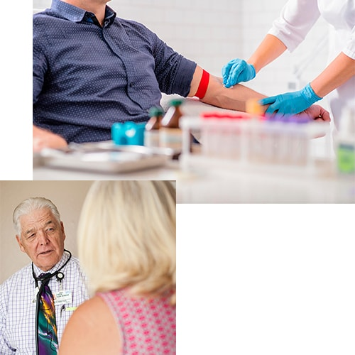 Drug-screening in California being administered by our top doctor, Dr. Fred Von Stieff